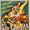Jim Bannon, Steve Cochran, and Jinx Falkenburg in The Gay Senorita (1945)