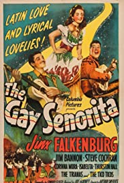 The Gay Senorita Poster
