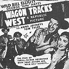Bill Elliott, George 'Gabby' Hayes, and Anne Jeffreys in Wagon Tracks West (1943)