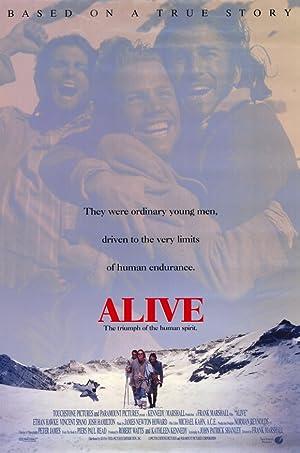 Alive (1993): ปาฏิหาริย์สุดขั้วโลก