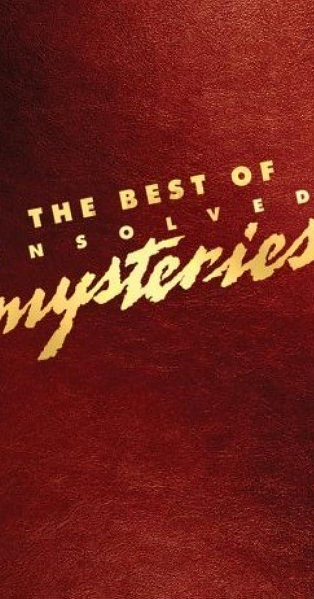 Unsolved Mysteries (TV Series 1987–2010) - IMDb
