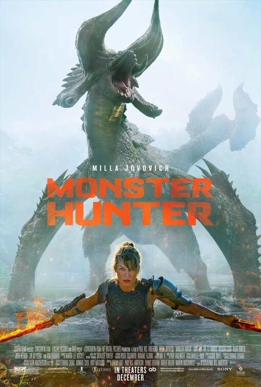 Monster Hunter 2020 Hindi Dubbed Official Trailer 1080p HDRip 30MB Download