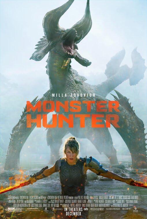 Monster Hunter (2020) Hindi Dubbed