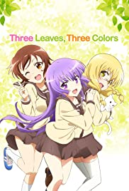 Three Leaves, Three Colors Poster