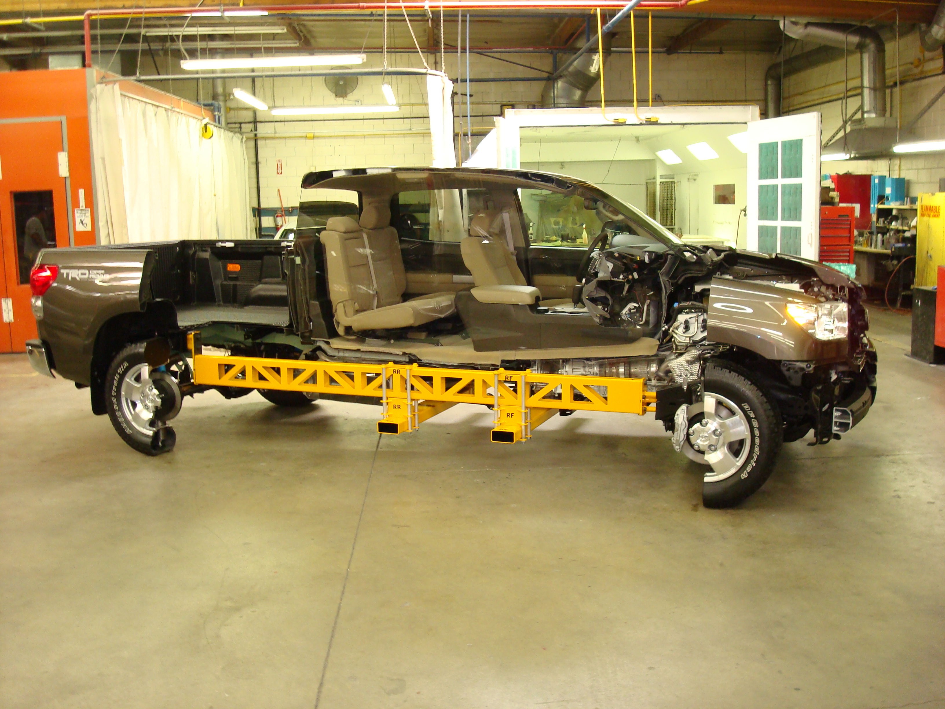 Toyota Tundra full size Truck Cutaway. Designed and executed by Eric Allard
