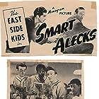 Gabriel Dell, Leo Gorcey, Huntz Hall, Ernest Morrison, Bobby Jordan, and Maxie Rosenbloom in Smart Alecks (1942)
