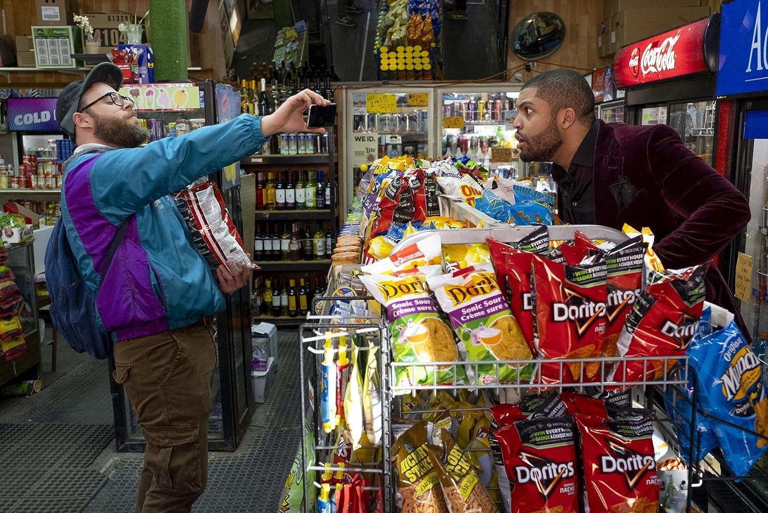 Seth Rogen and O'Shea Jackson Jr. in Long Shot (2019)