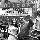 Russ Meyer and Shari Eubank at an event for Supervixens (1975)