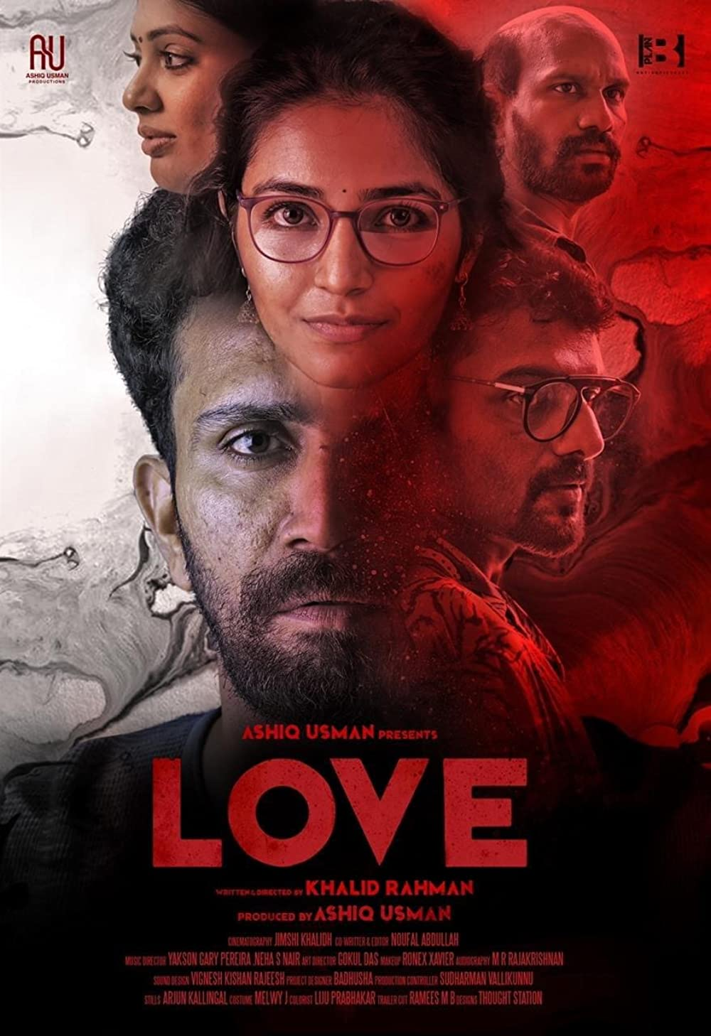 Love 2021 Malayalam Movie 1080p HDRip 2.2GB ESub x264 AAC