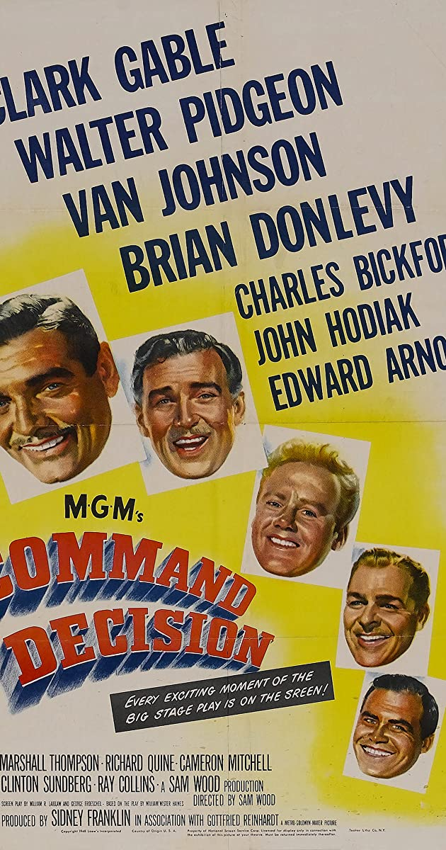Command Decision (1948) - Command Decision (1948) - User Reviews - IMDb