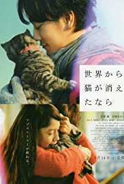 If Cats Disappeared from the World Poster