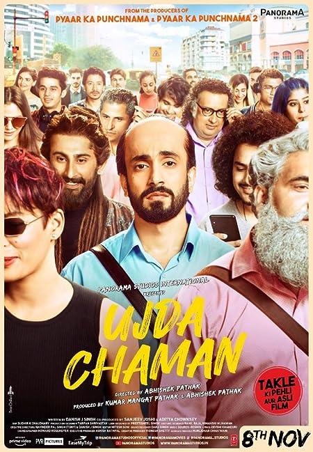 Ujda Chaman (2019) Hindi Pre-DvDRip - 480P | 720P - x264 - 400MB | 1.2GB - Download & Watch Online  Movie Poster - mlsbd