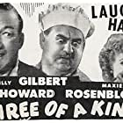 Billy Gilbert, June Lang, and Maxie Rosenbloom in Three of a Kind (1944)