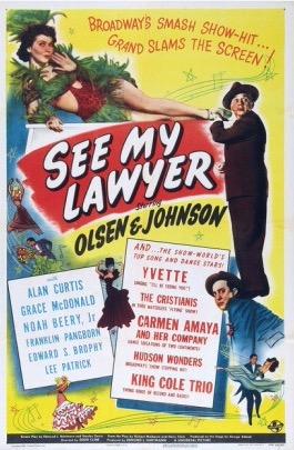 Edward F. Cline See My Lawyer Movie