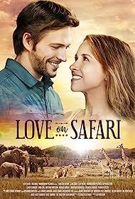 Lacey Chabert and Jon Cor in Love on Safari (2018)