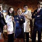 Dalila Bela, Sean Michael Kyer, Millie Davis, Filip Geljo, Isaac Kragten, Olivia Presti, and Anna Cathcart in Odd Squad: The Movie (2016)