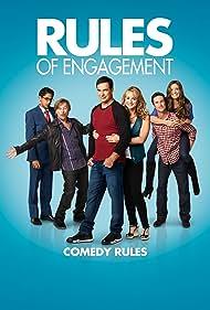 Oliver Hudson, David Spade, Bianca Kajlich, Megyn Price, and Adhir Kalyan in Rules of Engagement (2007)
