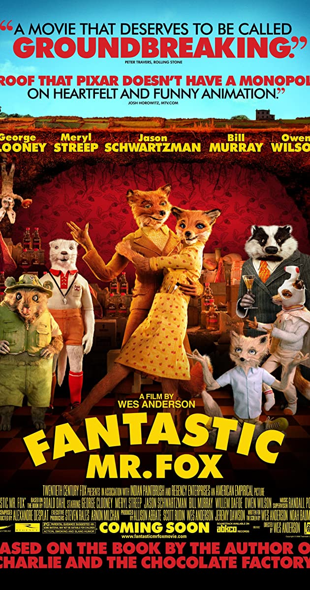 Fantastic Mr Fox 2009 Frequently Asked Questions Imdb