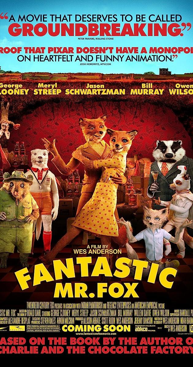Fantastic Mr Fox 2009 Trivia Imdb