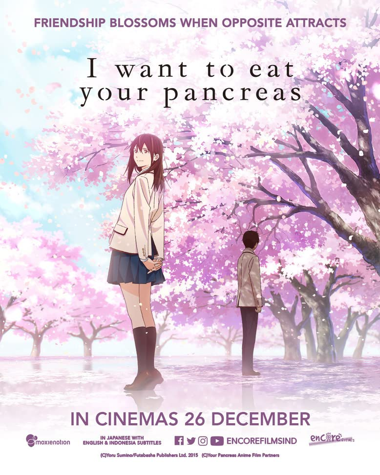 I Want to Eat Your Pancreas (2018) Hindi Dubbed