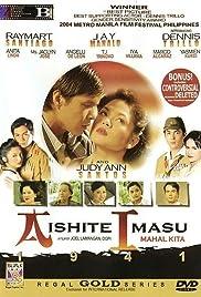 Aishite imasu (Mahal kita) 1941 Poster