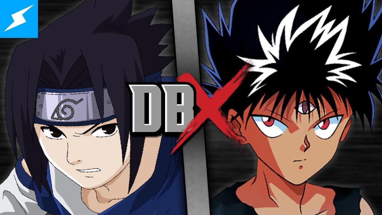 sasuke vs hiei naruto vs yu yu hakusho 2016