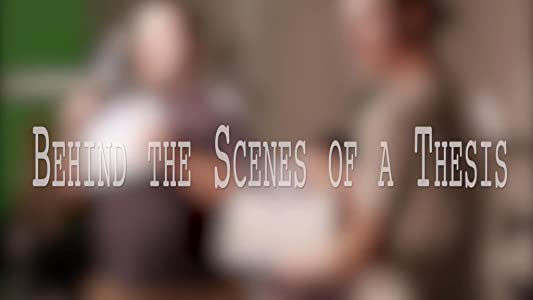 Movies psp free download Behind the Scenes of a Thesis [Mp4]