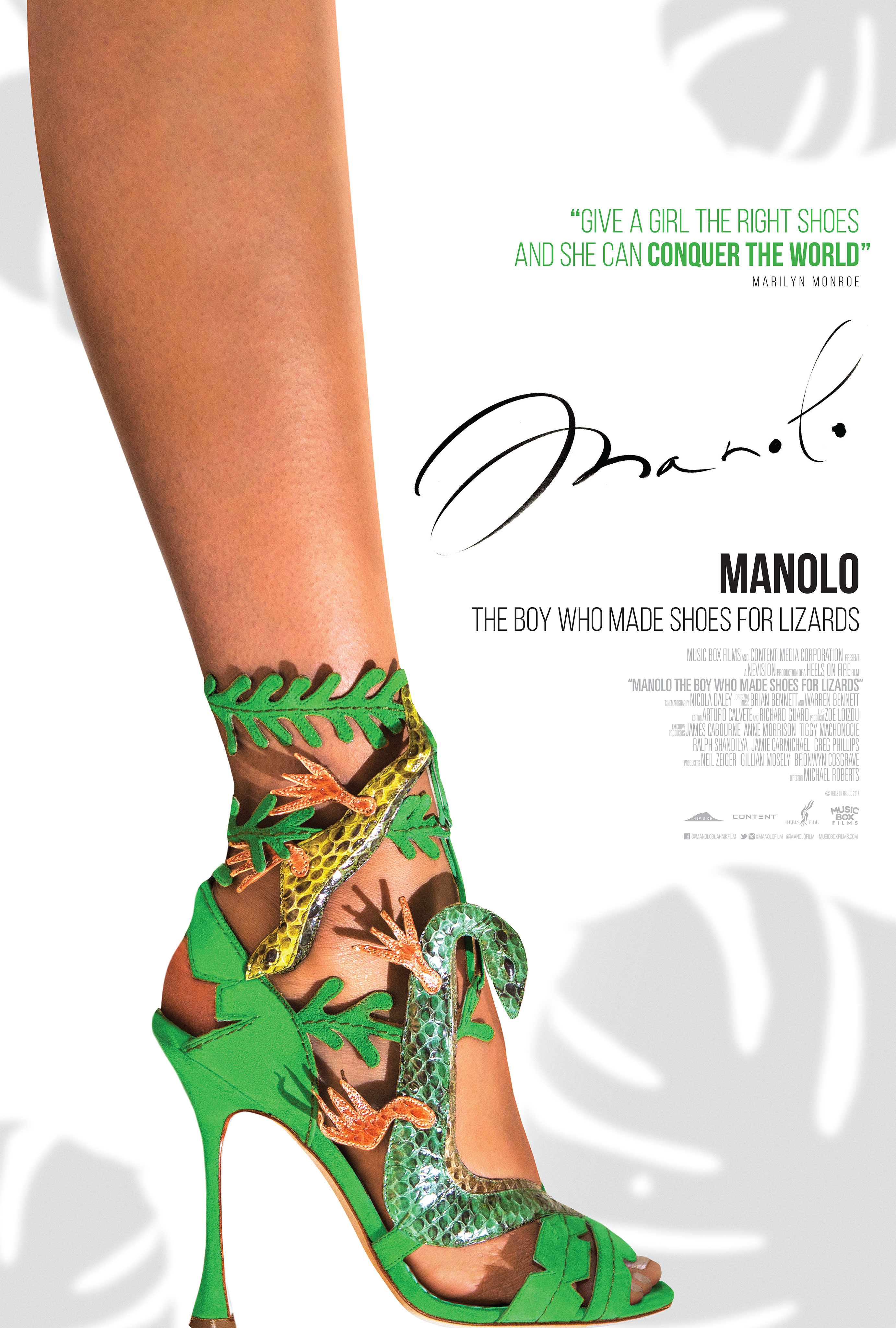Manolo: The Boy Who Made Shoes for Lizards (2017) - IMDb