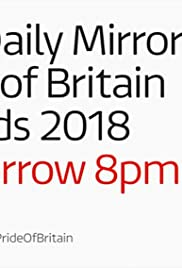Daily Mirror's Pride of Britain Awards 2018 Poster