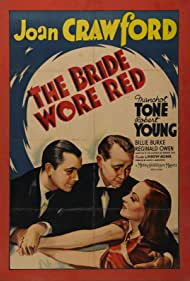 Joan Crawford, Robert Young, and Franchot Tone in The Bride Wore Red (1937)