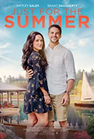 Hayley Sales and Brant Daugherty in Just for the Summer (2020)