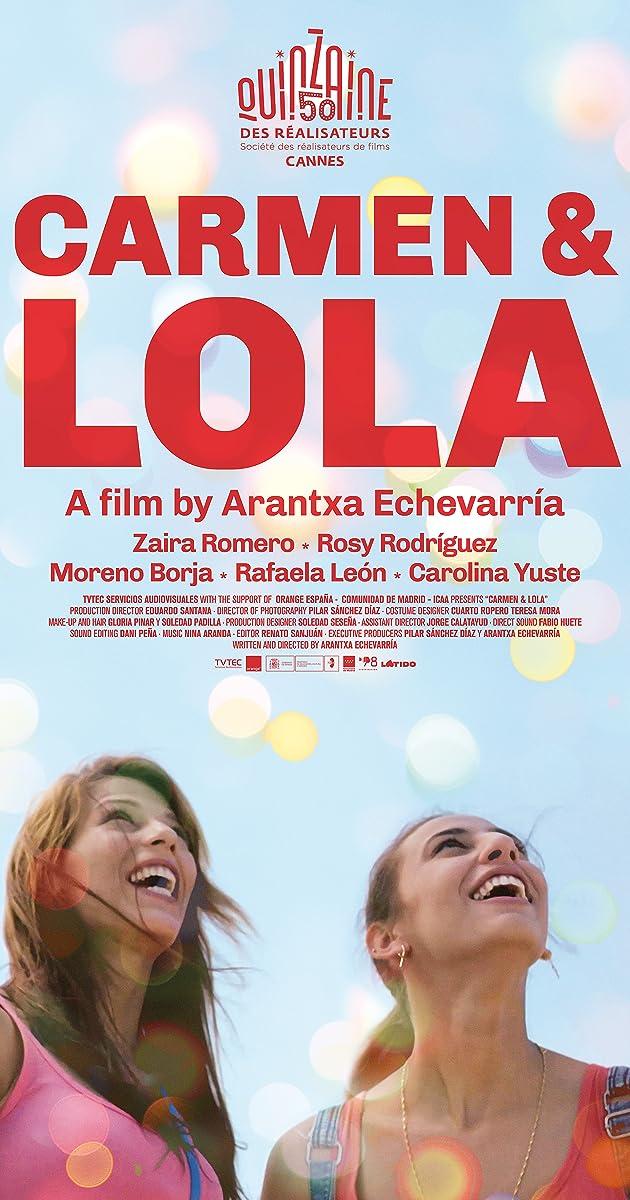 Resultado de imagem para Carmen y Lola poster
