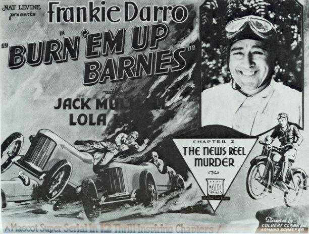 Jack Mulhall in Burn 'Em Up Barnes (1934)