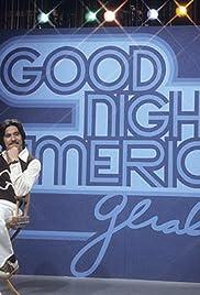 Good Night America Poster