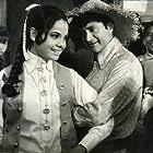 Dev Anand and Mumtaz in Haré Rama Haré Krishna (1971)