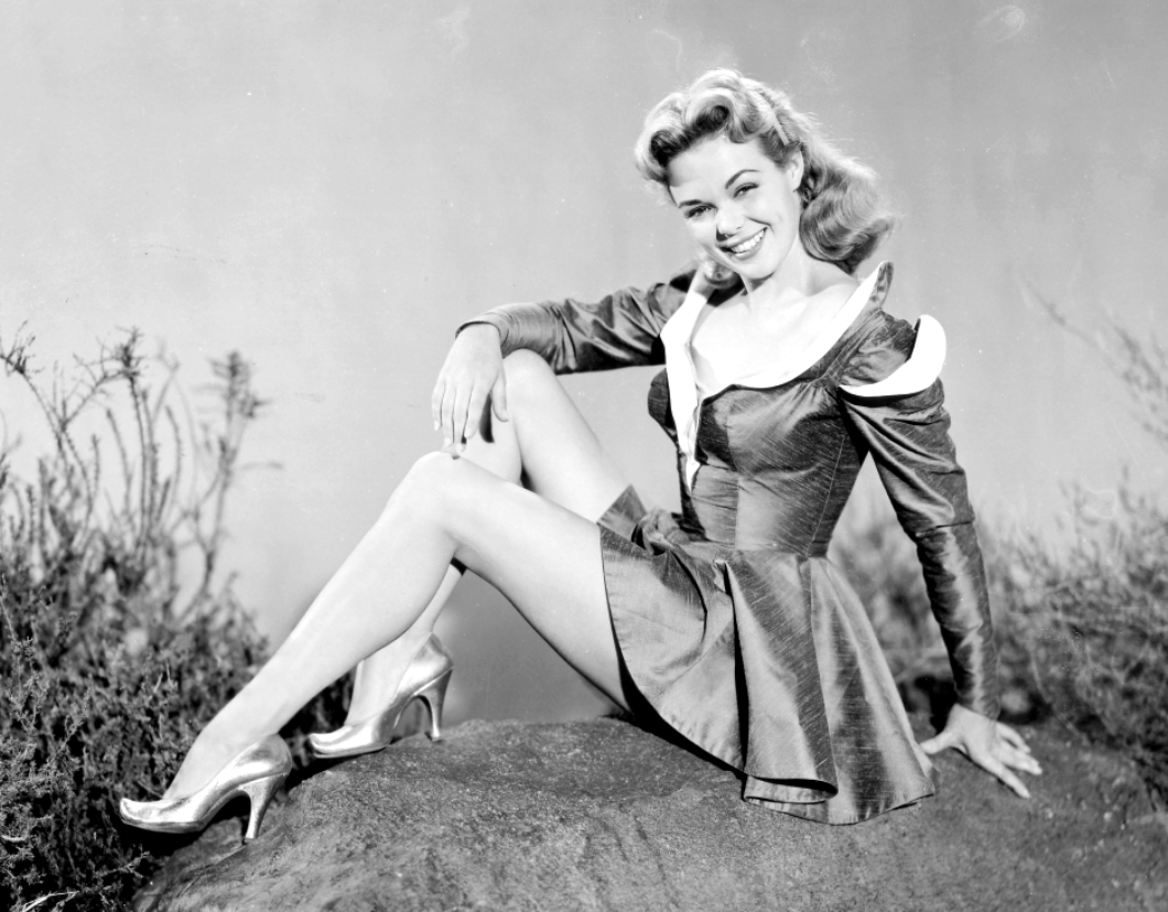 Nancy Gates in World Without End (1956)