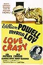 Love Crazy (1941) Poster