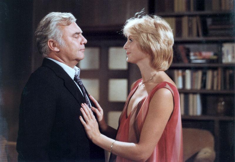 Eliska Balzerová and Petr Hanicinec in Mezicas (1981)