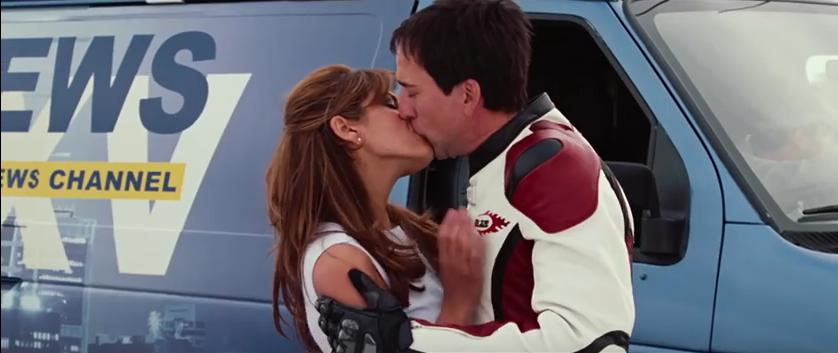 Nicolas Cage and Eva Mendes in Ghost Rider (2007)