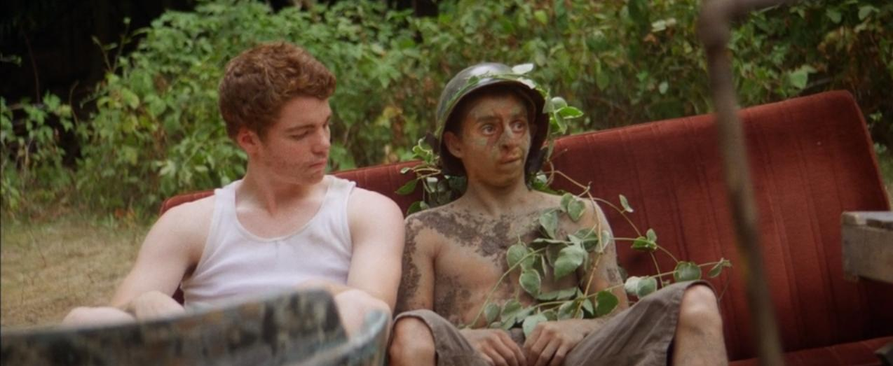 Moises Arias and Gabriel Basso in The Kings of Summer (2013)