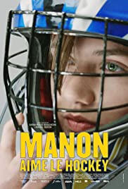 Manon aime le hockey Poster