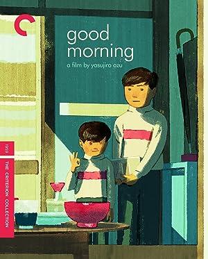 Ozuland: David Bordwell on Good Morning