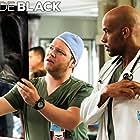 Boris Kodjoe and Harry Ford in Code Black (2015)