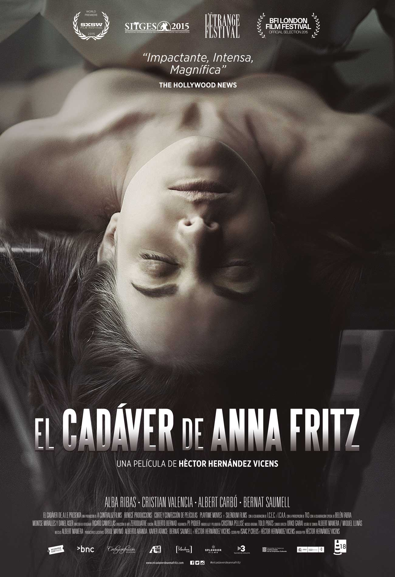El Cadáver De Anna Fritz 2015 Imdb