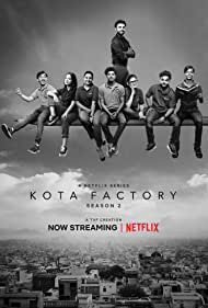 Urvi Singh, Ranjan Raj, Jitendra Kumar, Alam Khan, Mayur More, Vaibhav Thakkar, and Revathi Pillai in Kota Factory (2019)