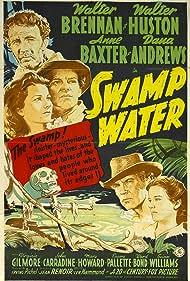 Anne Baxter, Walter Brennan, and Walter Huston in Swamp Water (1941)