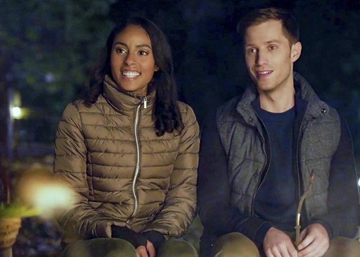 Jonathan Keltz and Clark Backo in Love at Look Lodge (2020)