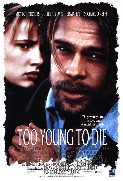 Juliette Lewis and Michael Tucker in Too Young to Die? (1990)