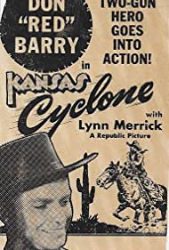 Don 'Red' Barry in Kansas Cyclone (1941)