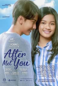 Ari Irham and Yoriko Angeline in After Met You (2019)